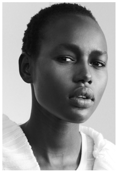 Photo of Ajak Deng by @talfoto from Backstage series #NYFW