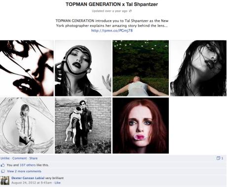Feature In Topman Generation